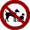 no pets - pas d'animaux